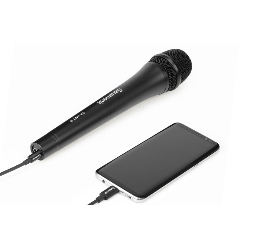 Saramonic SR-HM7-UC, professional dynamic vocal handheld microphone with USB C connector