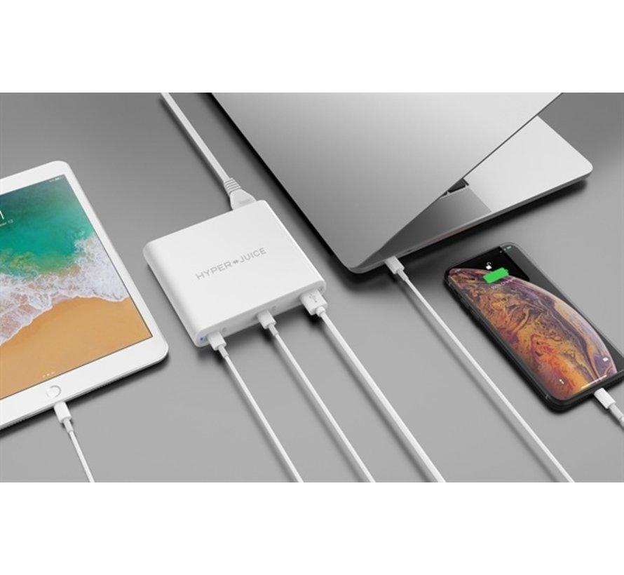 Hyper USB-C 87W + USC-A 70W adapter