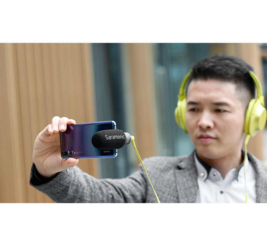 Saramonic SmartMic+ UC smartphone microfoon
