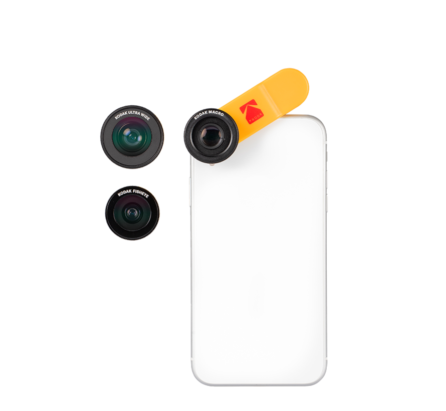KODAK Smartphone 3-in-1 Lens Set