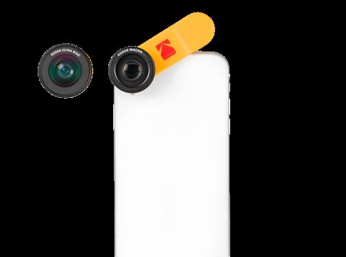 Kodak x Black eye lens KODAK Smartphone 2-in-1 Lens Set