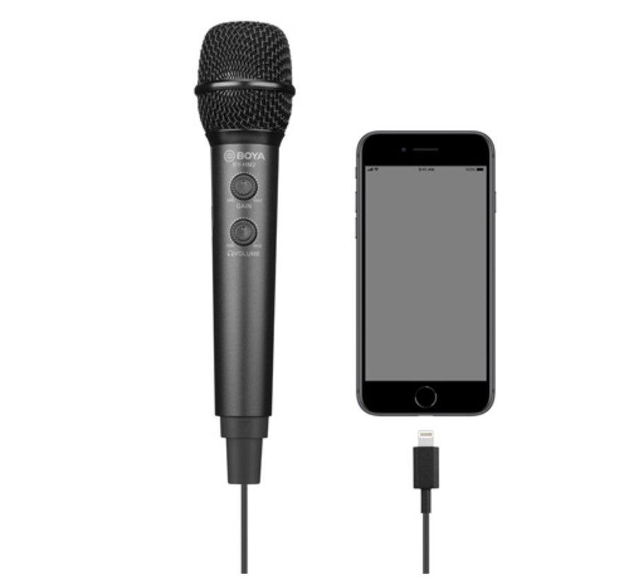 Boya BY-HM2 smartphone microfoon