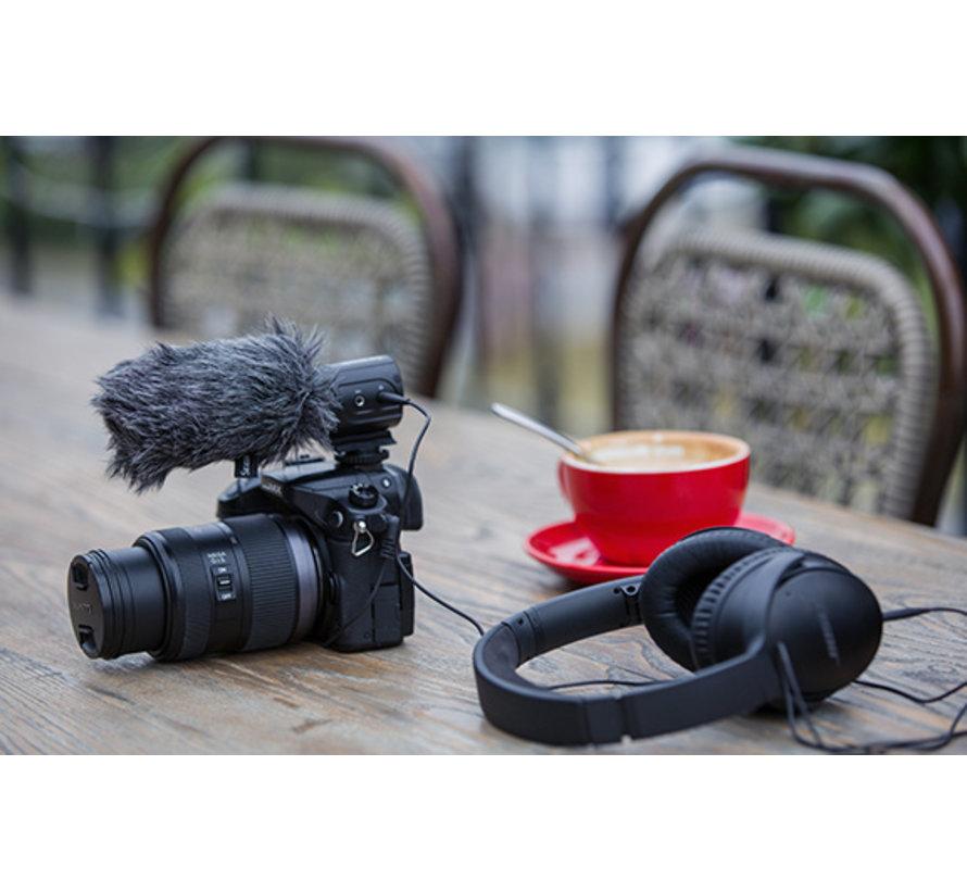Saramonic SR-M3, camera-mount condenser microphone