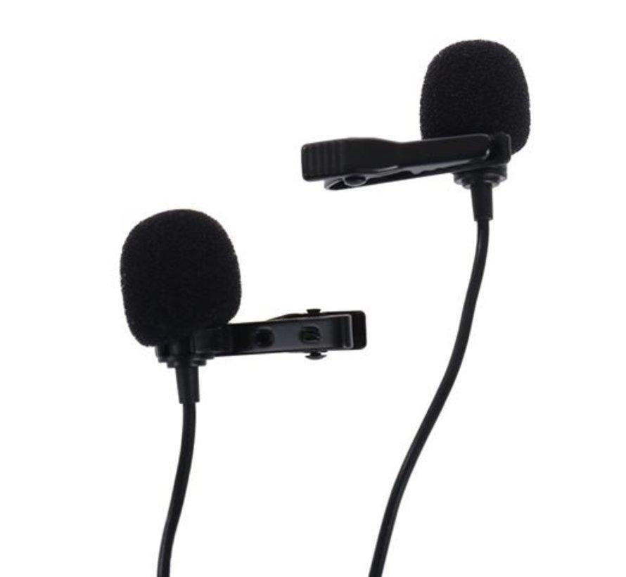 Boya Duo Clip-on Lavalier Microfoon BY-M3D voor USB-C