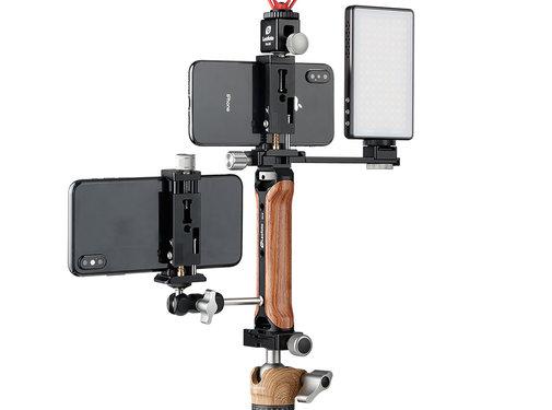 Leofoto Leofoto VC-1 mojo microfoon en licht bundel