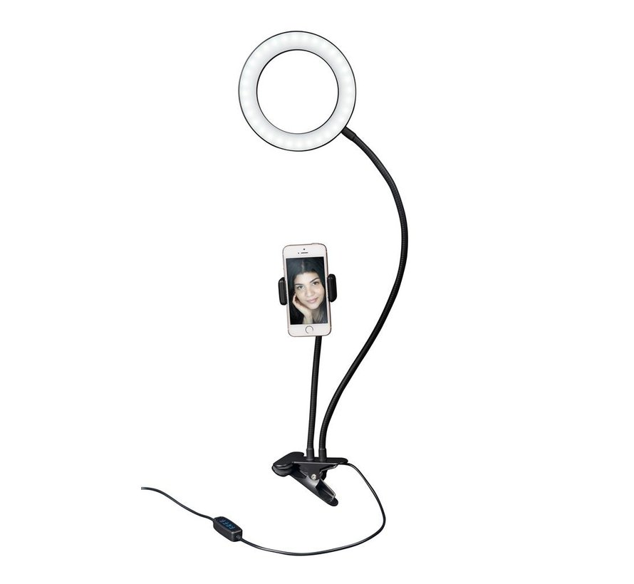 Dorr SLR-16 Bi-color selfie ring light