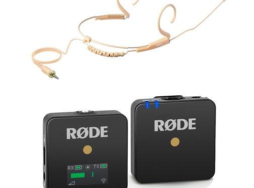 RODE Rode Wireless Go + Rode HS2 (small)