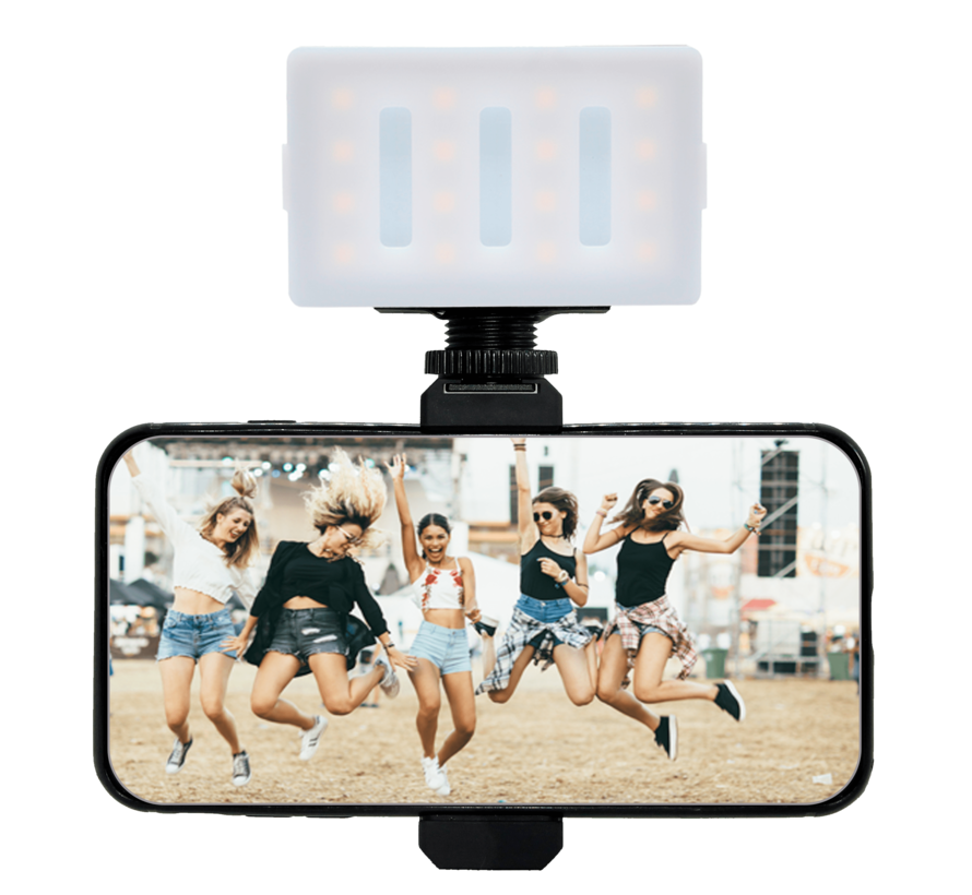 Smartphone mount met shoe mount (60-95mm)