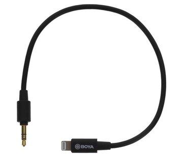 Boya Boya BY-K1 - TRS - Lightning kabel