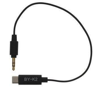 Boya Boya BY-K2 - TRS - USB-C kabel
