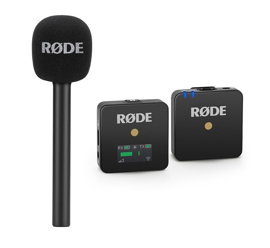 Rode Wireless GO Reporter bundle