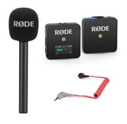 RODE Rode Wireless GO Reporter bundle