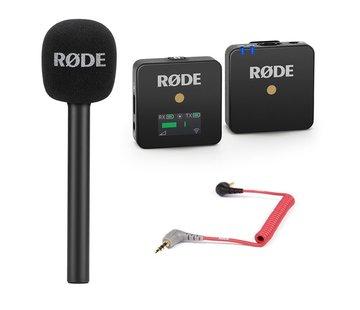 RODE Rode Wireless GO Reporter bundel