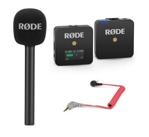 RODE Rode Wireless GO Reporter bundle