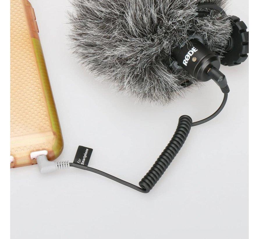 Ulanzi TRS > TRRS kabel voor microfoons