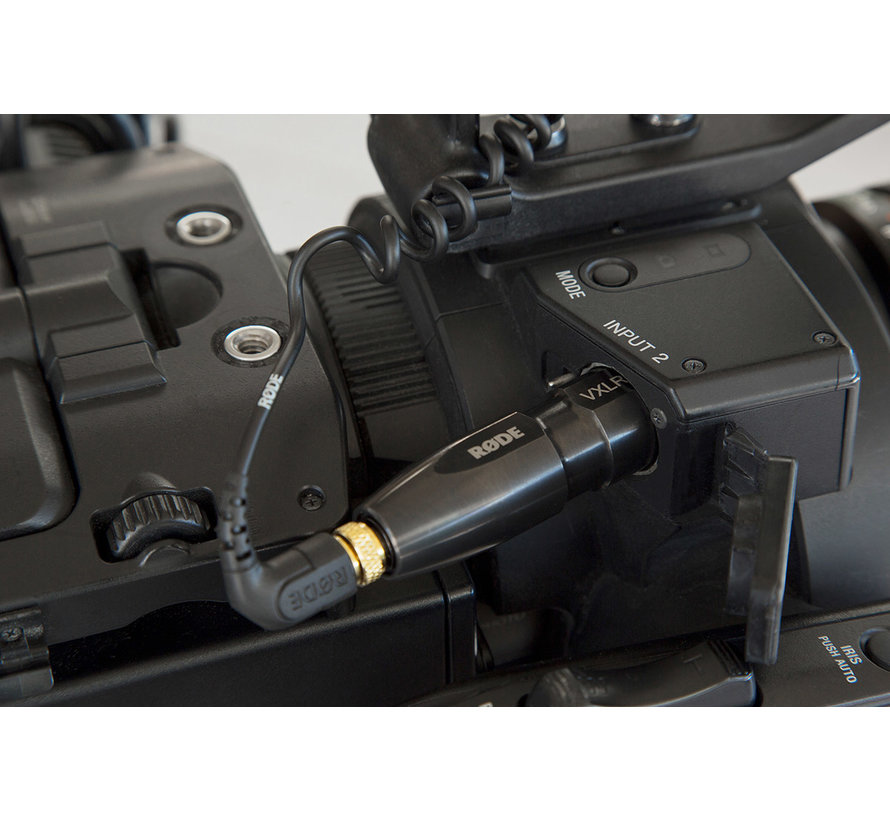 Rode VXLR plus - XLR naar TRS adapter