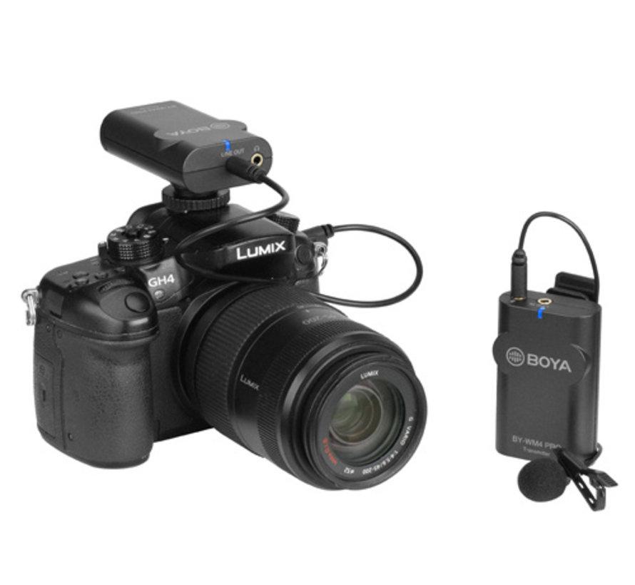 Boya BY-WM4 Pro-K3 draadloze microfoon - Lightning