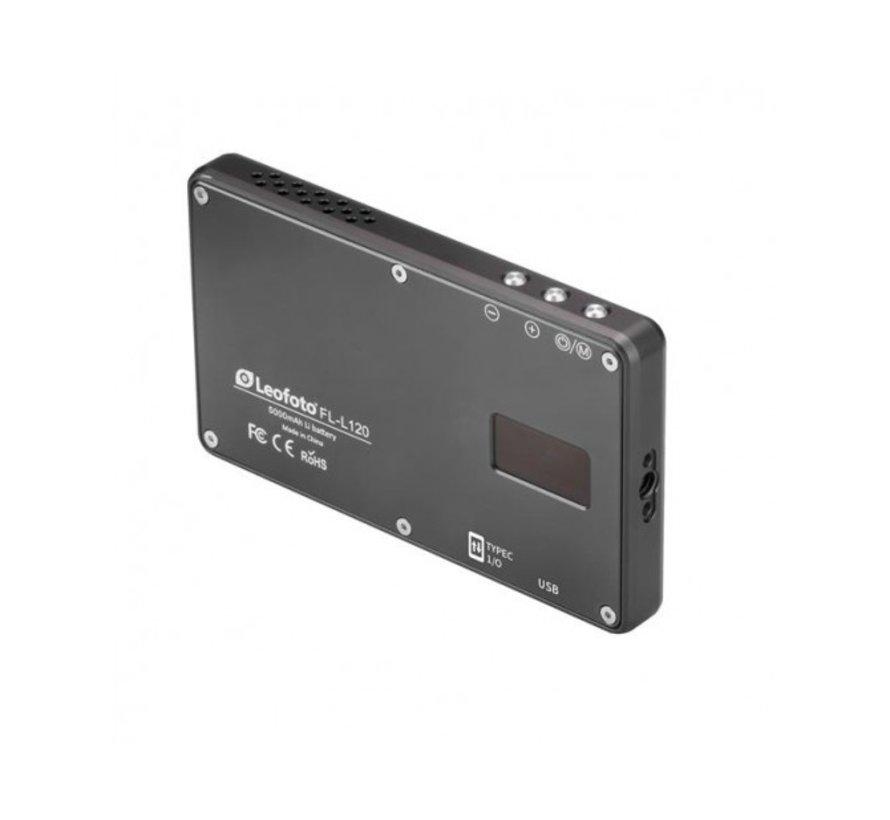 Leofoto FL-L120 LED-paneel voor foto en video
