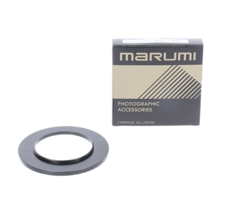Marumi Step-up Ring 52 mm naar 77 mm