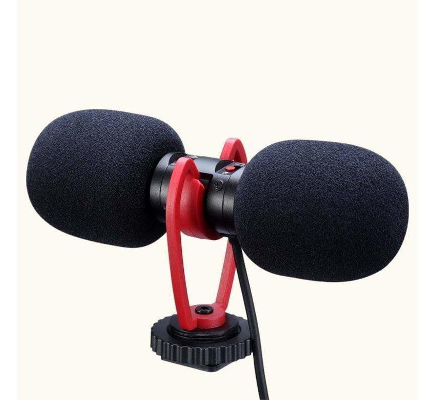 Ulanzi SAIREN T Mic Dual-Head Microphone