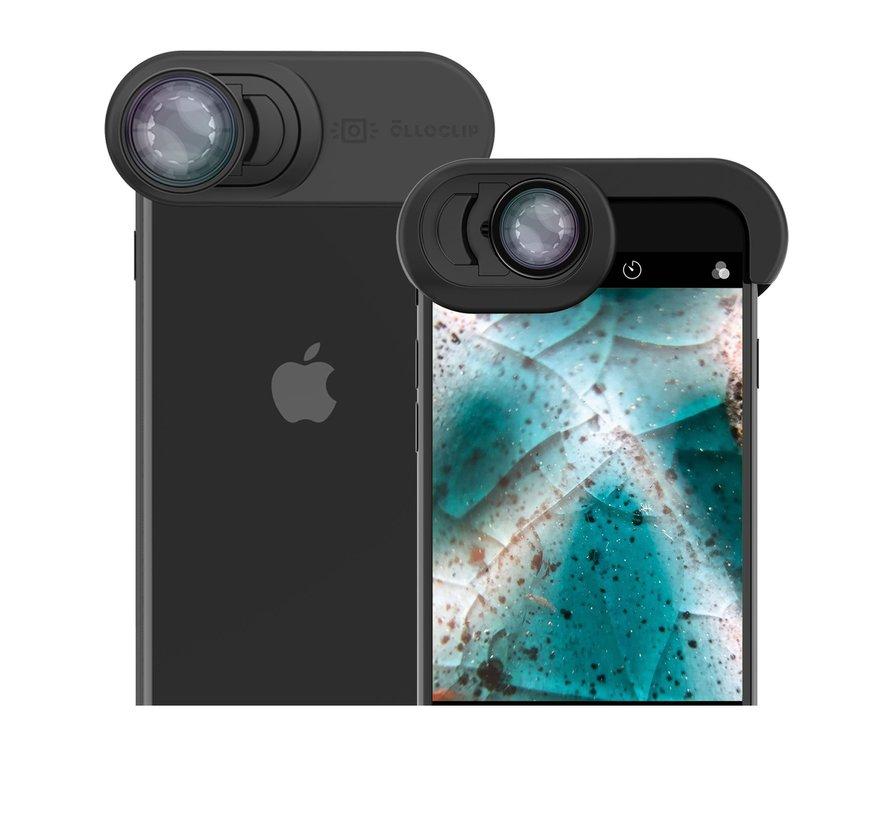 olloclip macro voor iPhone SE 2020, iPhone 7 & 8 macrolenzen (7x - 14x - 21x)