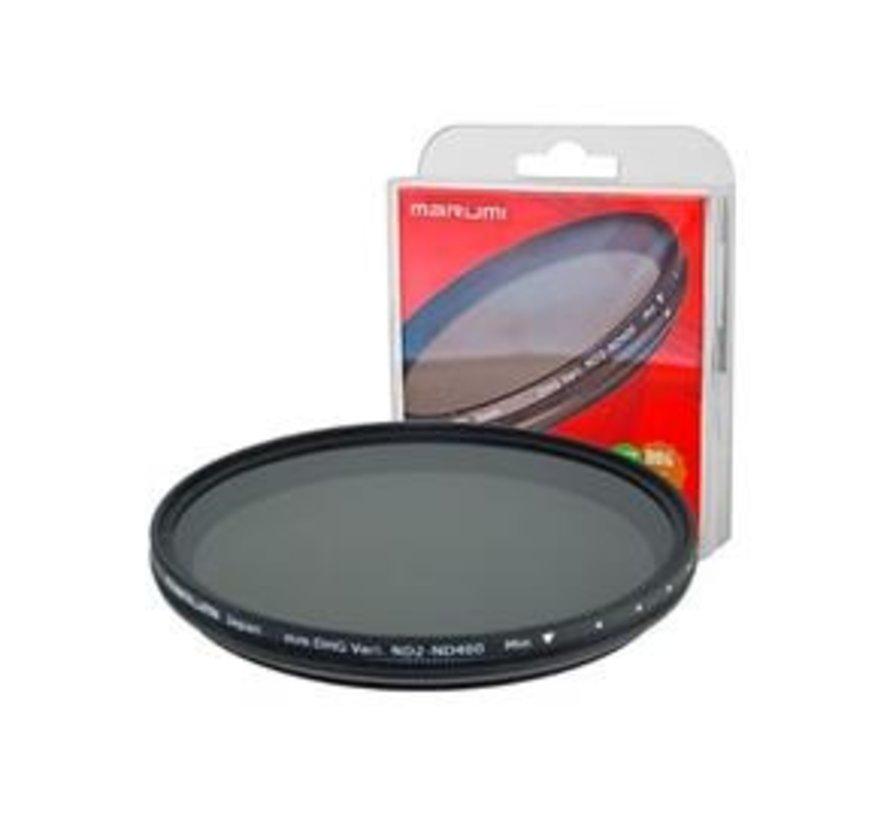 Marumi Grijs Variabel Filter DHG ND2-ND400 52 mm