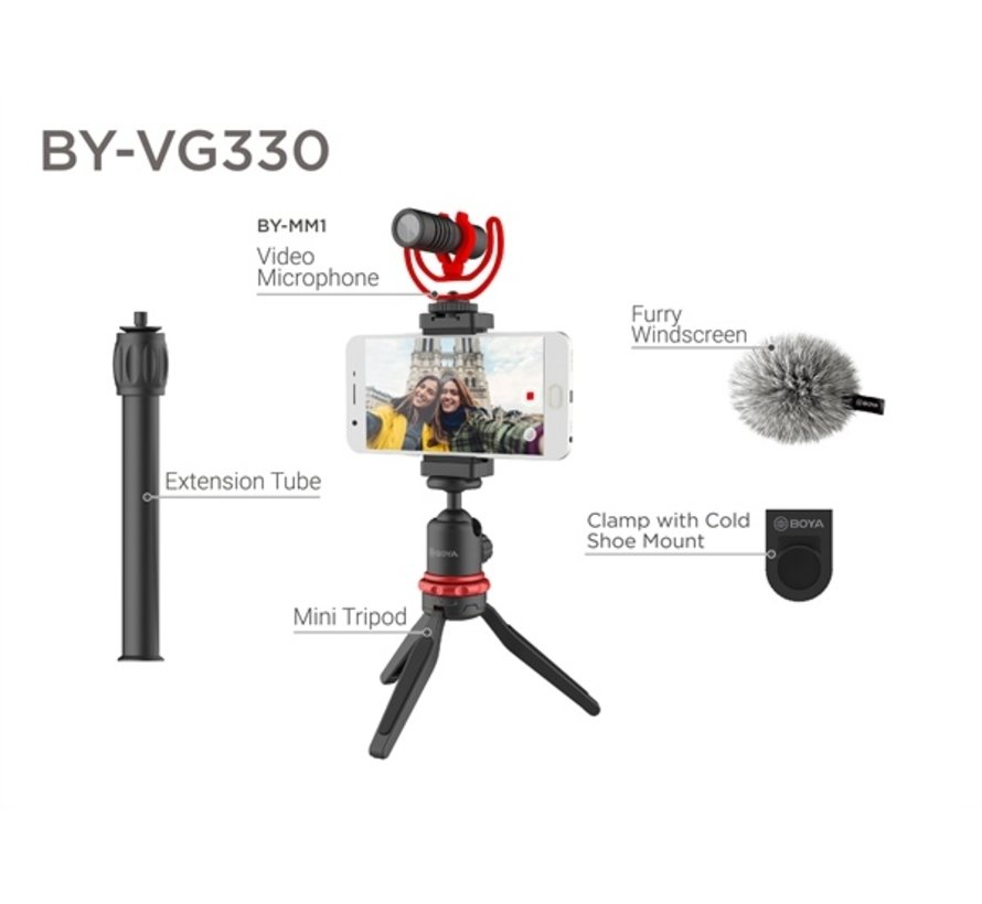 Boya BY-VG330 Vlogging kit