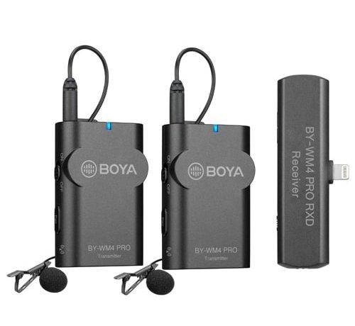 Boya Boya BY-WM4 Pro-K4 draadloze microfoon - Lightning