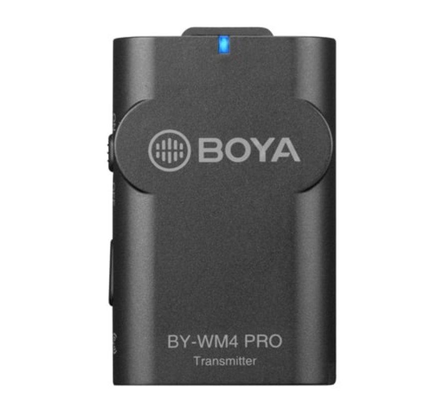 Boya BY-WM4 Pro-K4 draadloze microfoon - Lightning