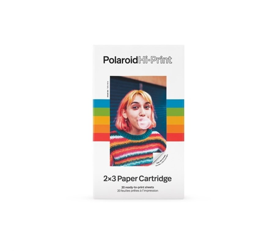 Polaroid Hi-Print 2x3 Paper Cartridge (20 foto's)