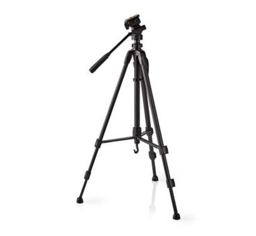 Statief | Pan & Tilt | Max. 2,5 kg | 148 cm | Zwart