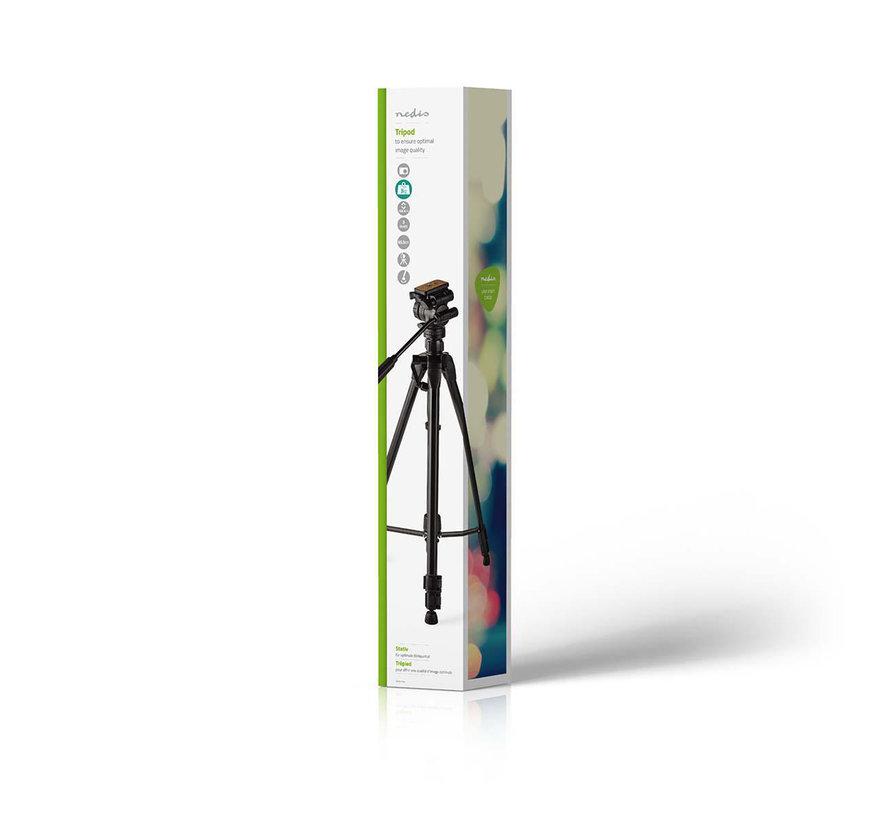 Statief | Pan & Tilt | Max. 3 kg | 160 cm | Zwart
