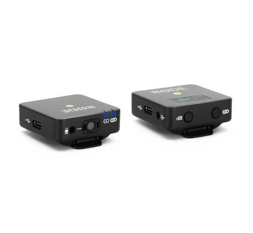 RODE RODE Wireless GO + Lavalier Go  + SC7 bundel - Zwart