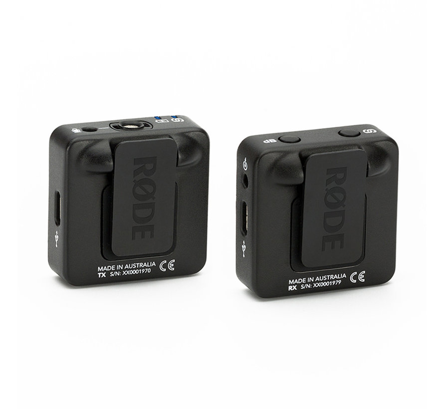 RODE Wireless GO + Lavalier Go  + SC7 bundel - Zwart