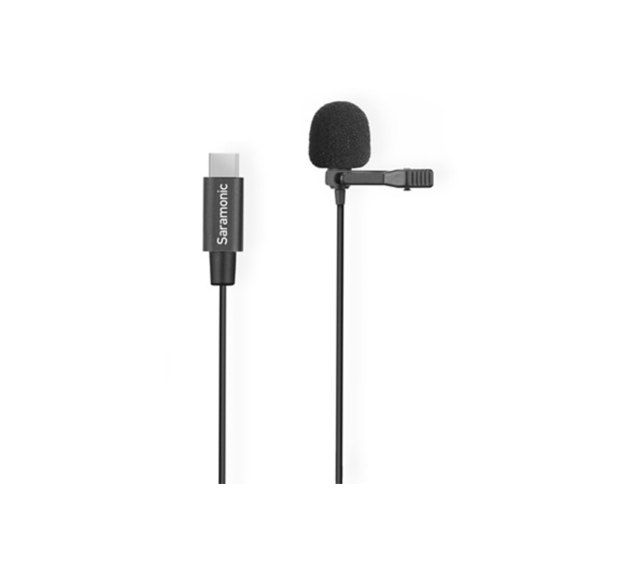 Saramonic LavMicro UC, lavalier microphone with USB-C connector