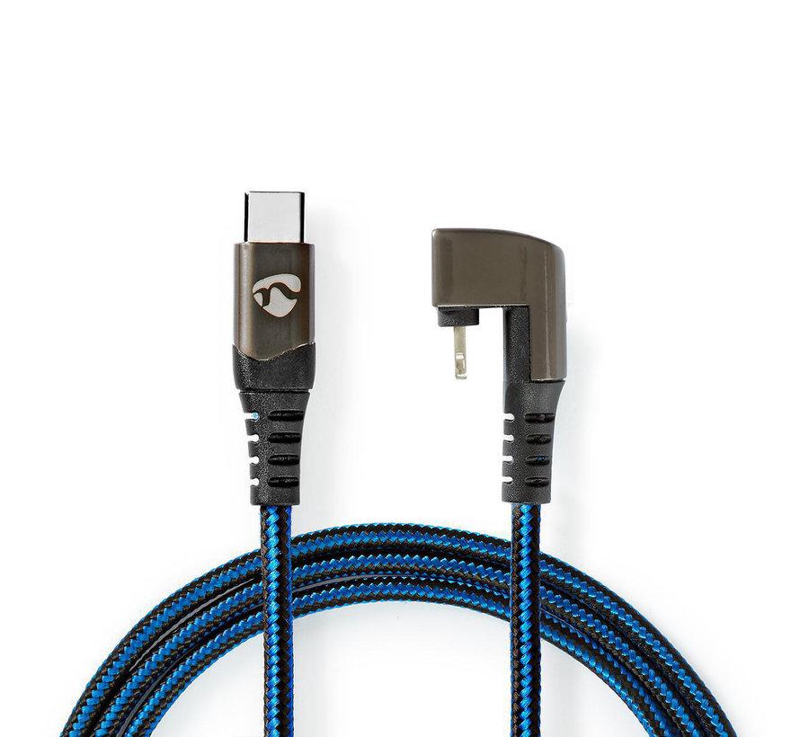USB-C Male naar Apple Lightning  - 180°