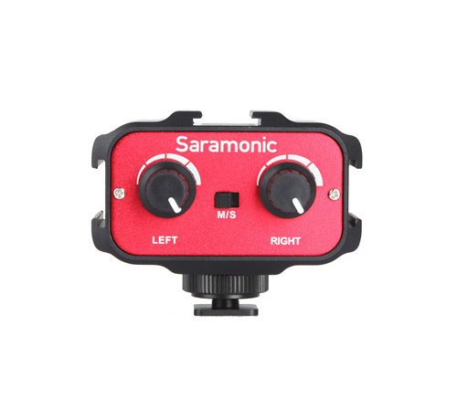 Saramonic Saramonic SR-AX100, compact 2-channel passive audio mixer with 3.5mm TRS stereo output
