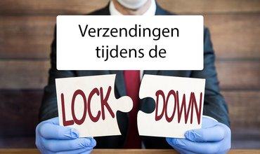 Leveringen tijdens de lockdown