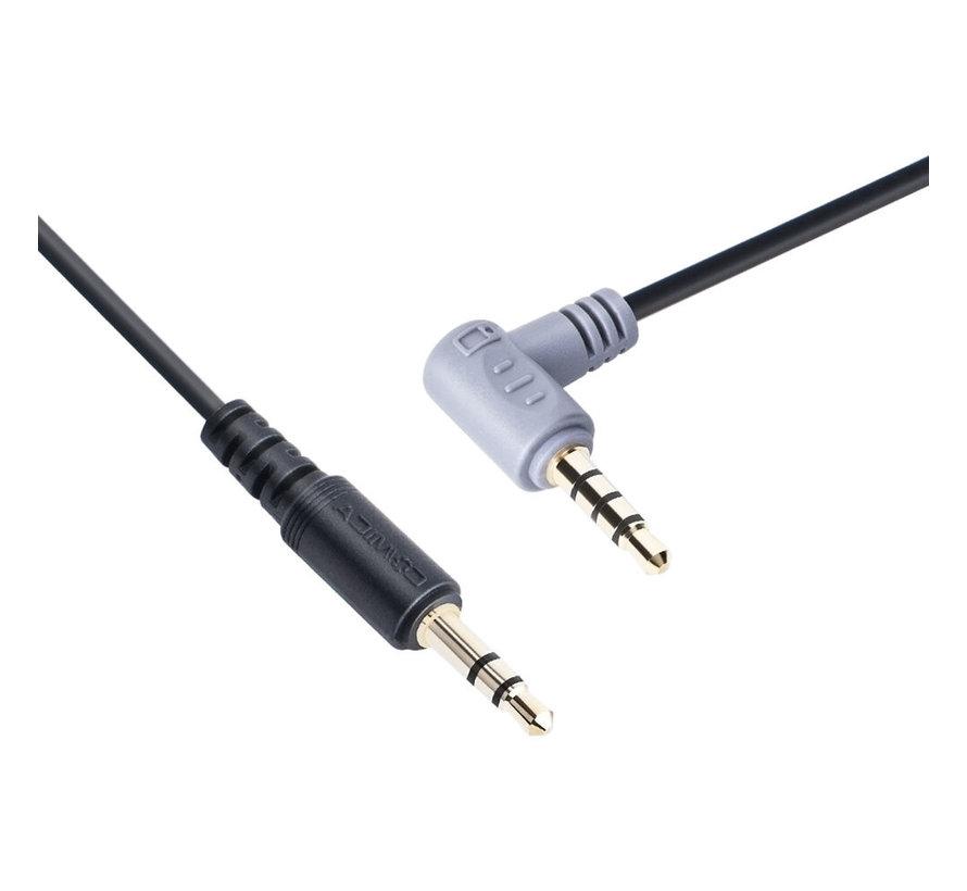 CVM-D-SPX TRS-TRRS adapter kabel