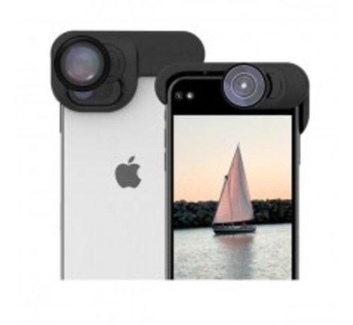 olloclip iPhone 11 Pro ElitePack Includes Clip, Pocket Telephoto 2X