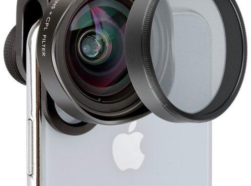 Ulanzi Ulanzi 0.5X wideangle + CPL-filter for smartphones