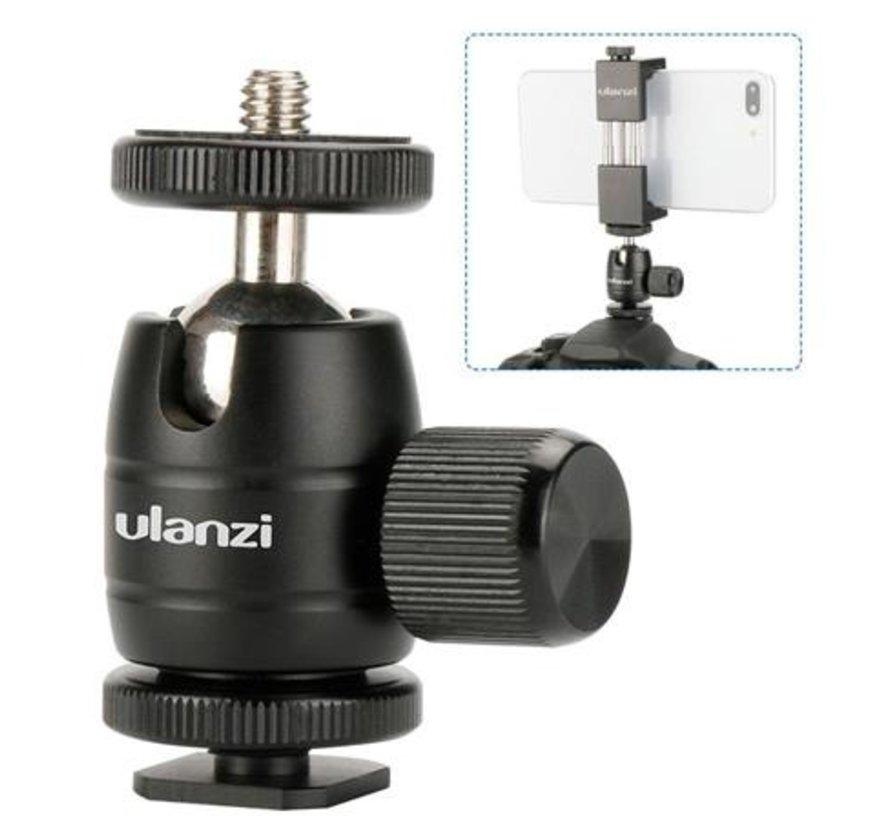 Ulanzi U-30s mini balhoofd voor shoe mount