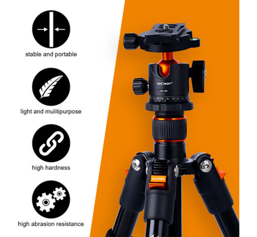 K&F Concept Statief SA234 voor smartphones, tablets en camera's