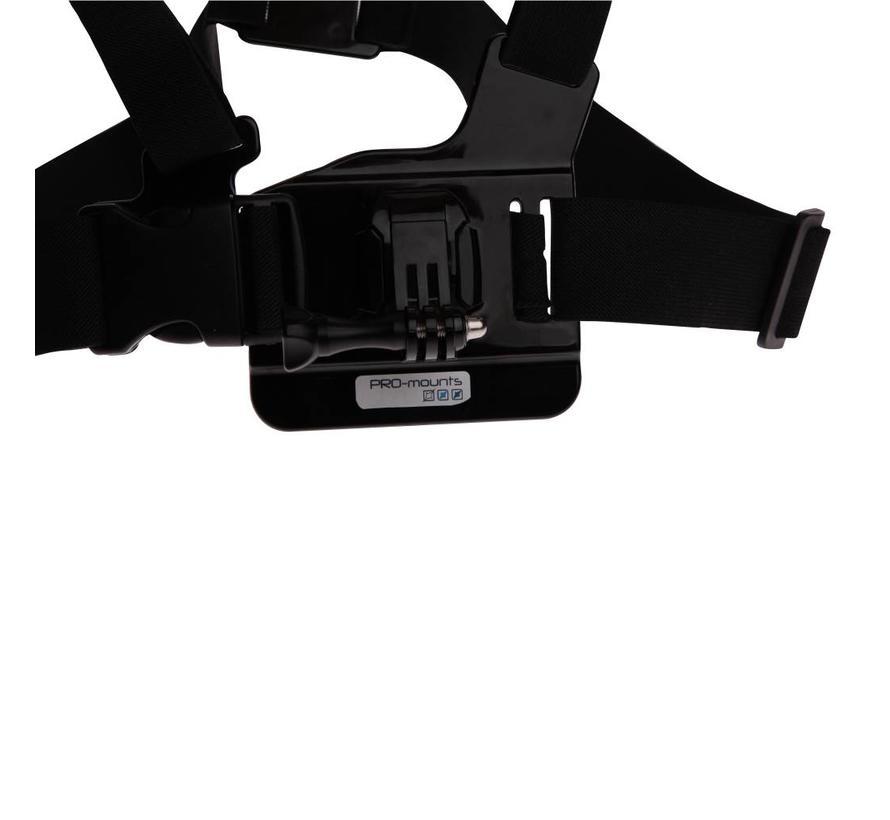 Pro-Mounts ChestMount voor GoPro & 360fly