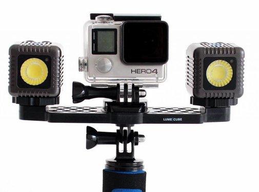 Lume Cube LumeCube Kit GoPro Mounting Bar + 2 Grijze Lume Cubes