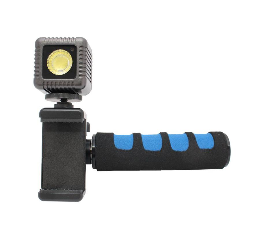 LumeCube Smartphone Video Mount & Handle (exclusief Lumecube)