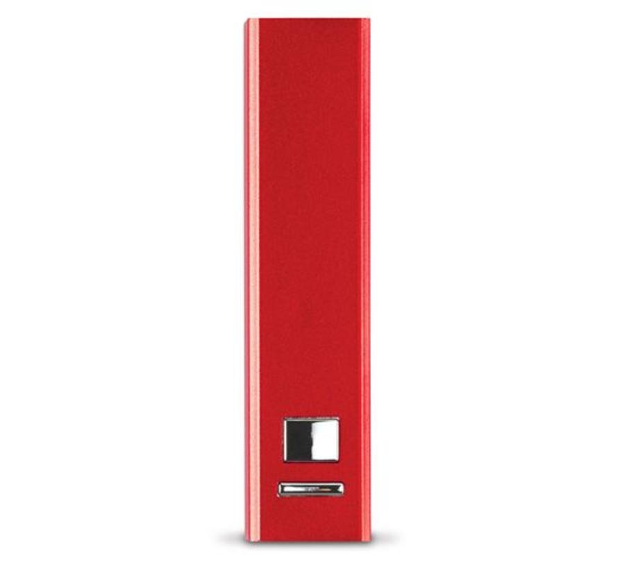 Powerbank 2200mAh aluminium (Bedrukt)
