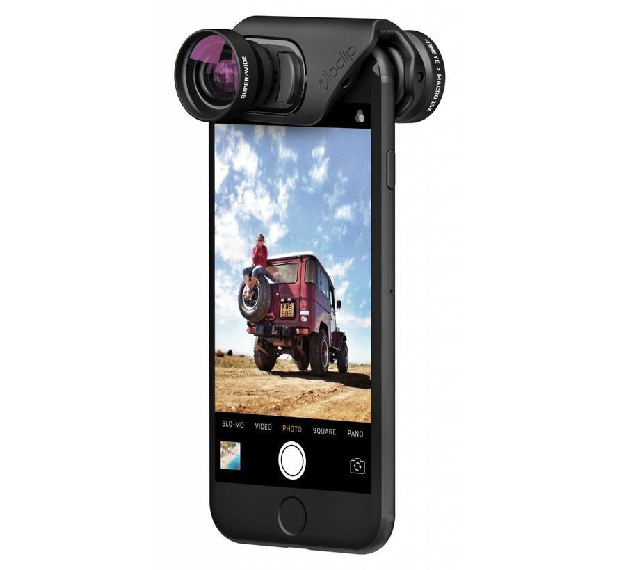 olloclip voor iPhone 7/8 en 7/8 plus Core lens set