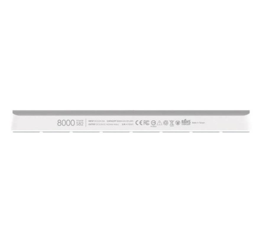 Silicon Power S82 Powerbank 8000 mAh (white)