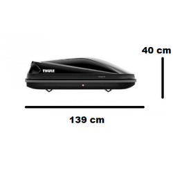 Thule Touring S 100 - Black Glossy